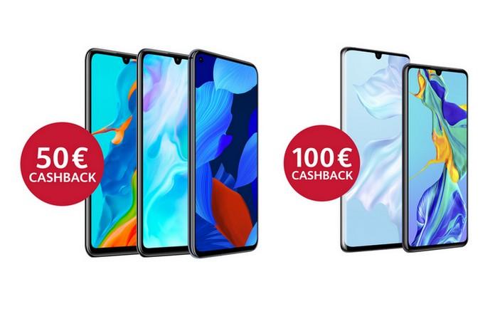 Huawei Cashback-Aktion