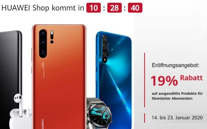 Huawei Eröffnungsangebote