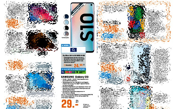 o2 Blue All-in M + Samsung Galaxy S10