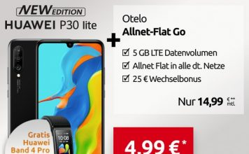 otelo Allnet-Flat Go Huawei P30 Lite New Edition