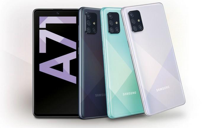 Samsung Galaxy A71 mit Vertrag