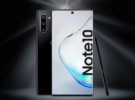 Vodafone green Samsung Galaxy Note 10