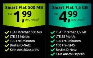 crash Smart Flat 1,5 GB LTE