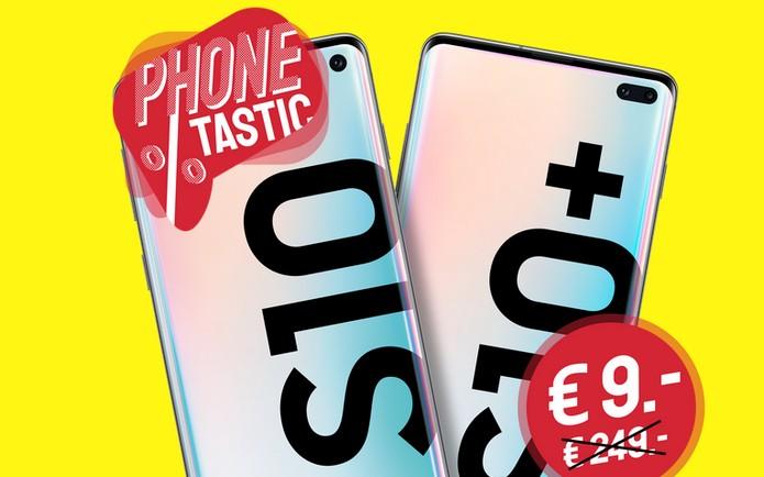 sparhandy Phonetastic Deals mit Samsung Galaxy S10 und Galaxy S10 Plus - auf 1.000 Exemplare limitiert