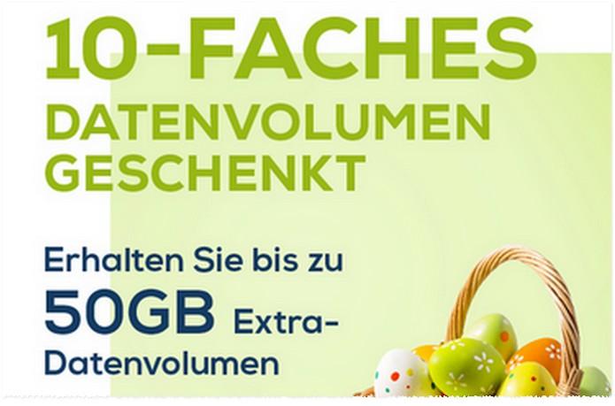 10-faches Datenvolumen bei EDEKA smart zu Ostern