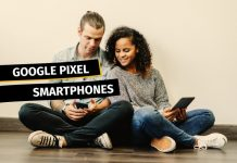 Google Pixel Handys