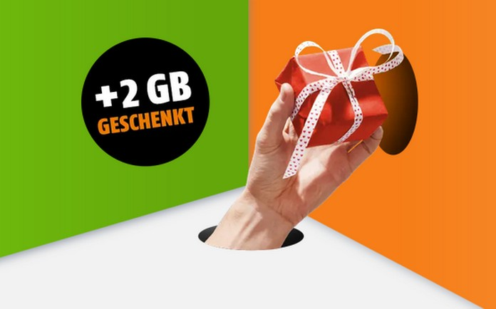 Bei Klarmobil gibt's aktuell 2 GB LTE-Datenvolumen geschenkt