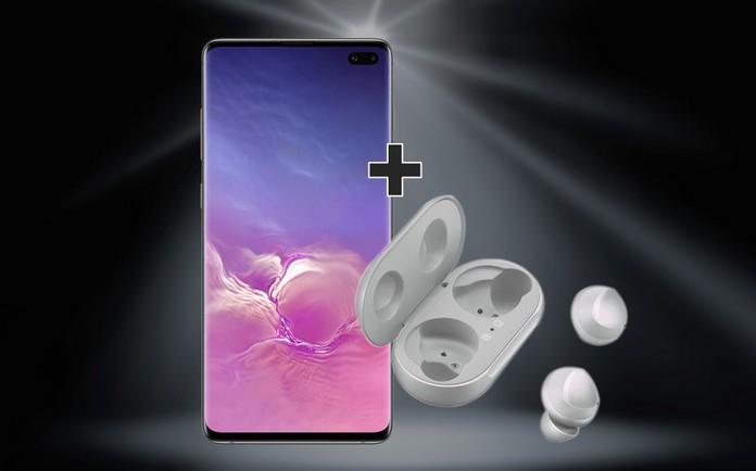 o2 Free M Boost + Samsung Galaxy S10 Plus + Galaxy Buds