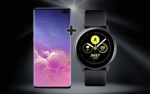 Smartwatch zum Samsung Galaxy S10 Plus Vertrag