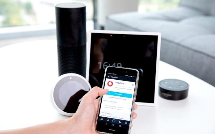 Vodafone unterstützt Alexa und Amazon Echo