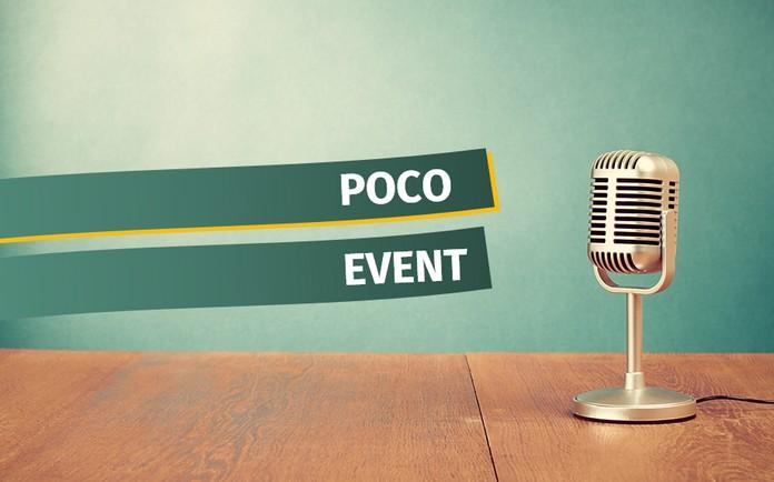 Was wird auf dem kommenden POCO-Event gezeigt?