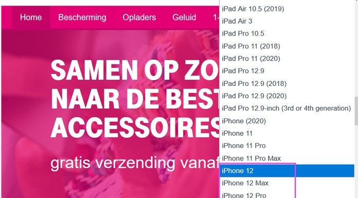 iPhone 12 Leak bei T-Mobile Niederlande
