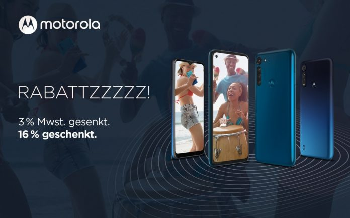Motorola Mehrwertsteuer Aktion