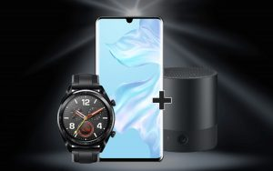 o2 Free M + Huawei P30 Pro + Mini-Speaker