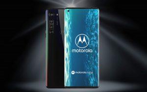 Vodafone green LTE + Motorola Moto Edge 5G