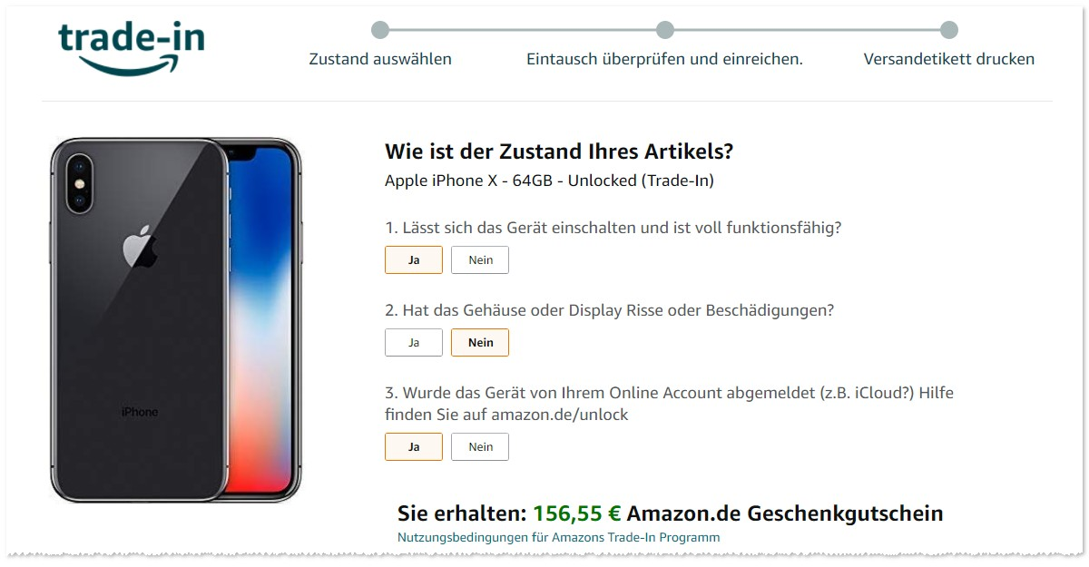 Amazon Smartphone Trade In