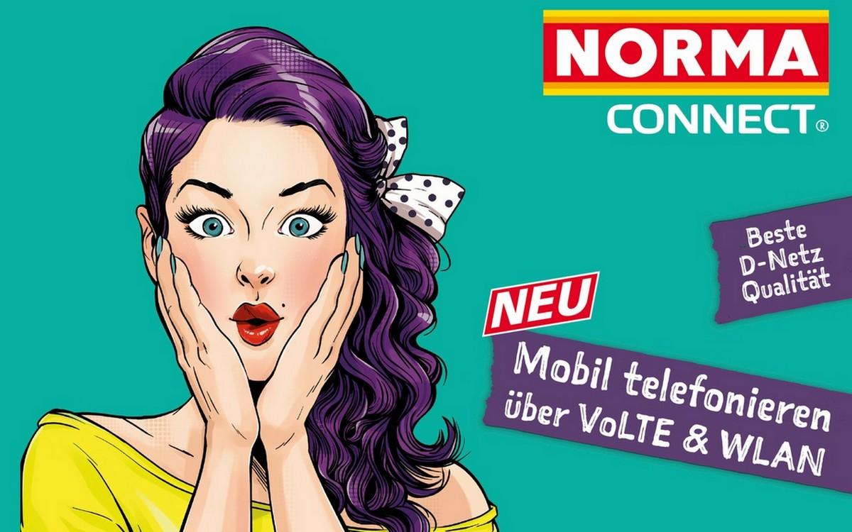 NORMA Connect mit VoLTE und WLAN-Call