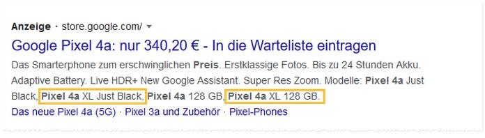Leak oder Fehler? Hat Google in dieser Werbeanzeige das Google Pixel 4a XL verraten?