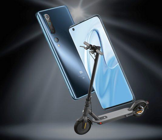 Vodafone Smart L Plus + Xiaomi Mi 10 + Scooter