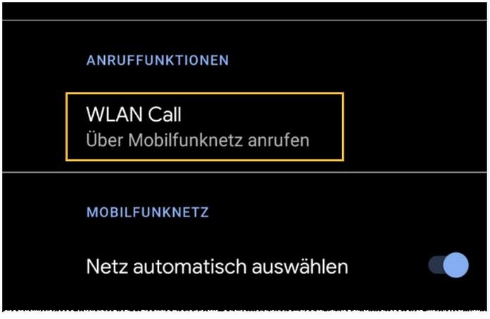 So kannst du WLAN-Anrufe auf deinem Android-Smartphone aktivieren