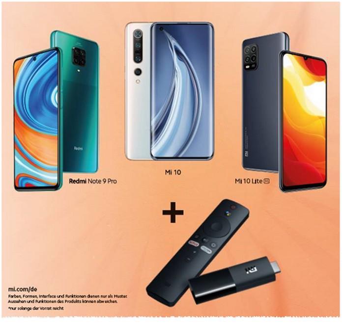Xiaomi Sommeraktion mit TV-Stick gratis