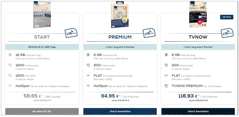Edeka smart Premium Jahrestarif
