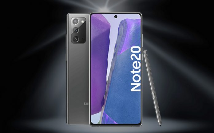o2 Free Unlimited Max + Samsung Galaxy Note 20 (4G)