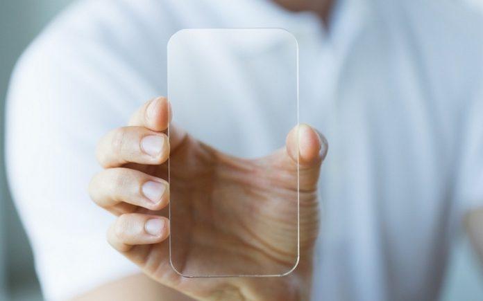 Patent für durchsichtiges Samsung-Handy