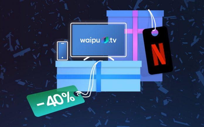 Der waipu.tv Geburtstag bringt 4 Monate 40% Rabatt auf 2 Streaming-Paket per Gutschein