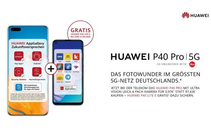Huawei und Telekom Aktion: Handy gratis