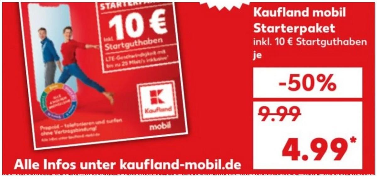 Kaufland mobil Starterset