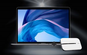 Macbook Air zur Unlimited-Flat: Bei o2 gibt's das Bundle jetzt zum attraktiven Preis inklusive WiFi-Router von Huawei