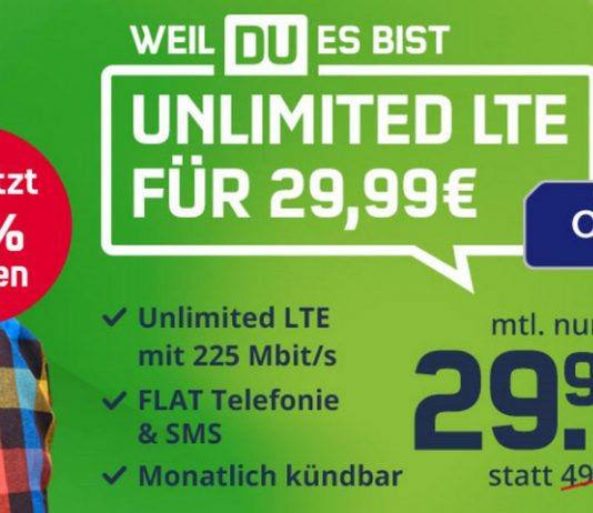 o2 Free Unlimited Max (md) für 29,99 € im Monat zum Prime Day