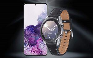 Smartwatch zum Samsung Galaxy S20 Vertrag