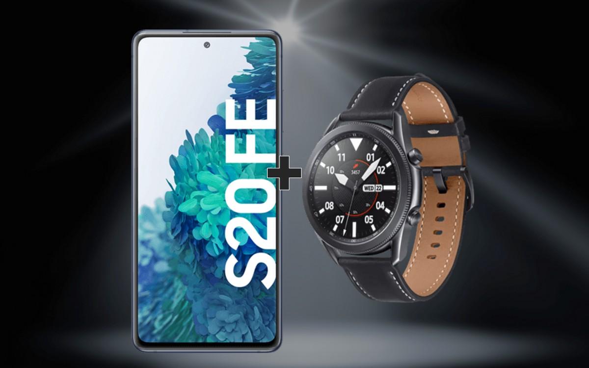 Smartwatch + Samsung Galaxy S20 FE (4G)