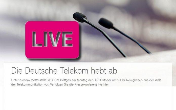 Telekom hebt ab