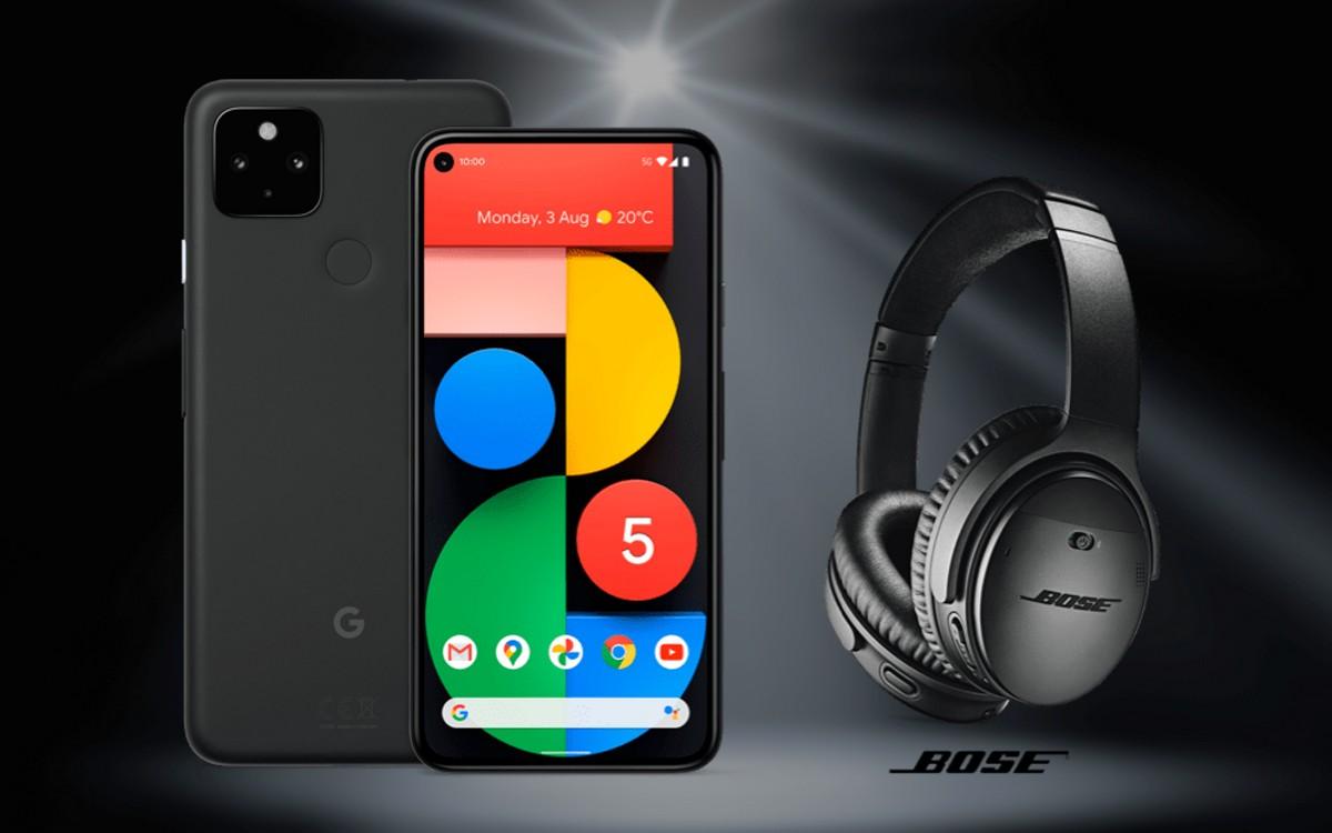 Vodafone Smart L Plus mit Google Pixel 5
