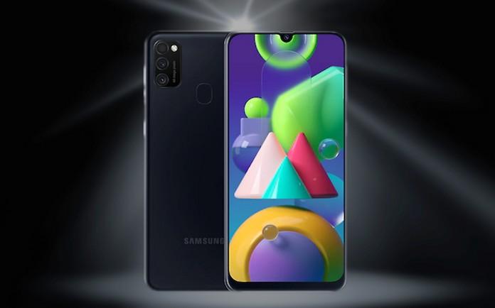 Blau Allnet-Flat + Samsung Galaxy M21