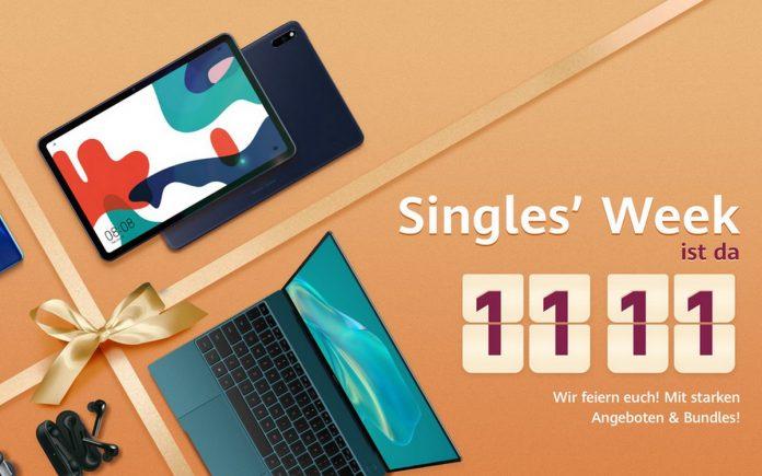 Statt Huawei Singles' Day gibt's 2020 eine ganze Huawei Singles' Week