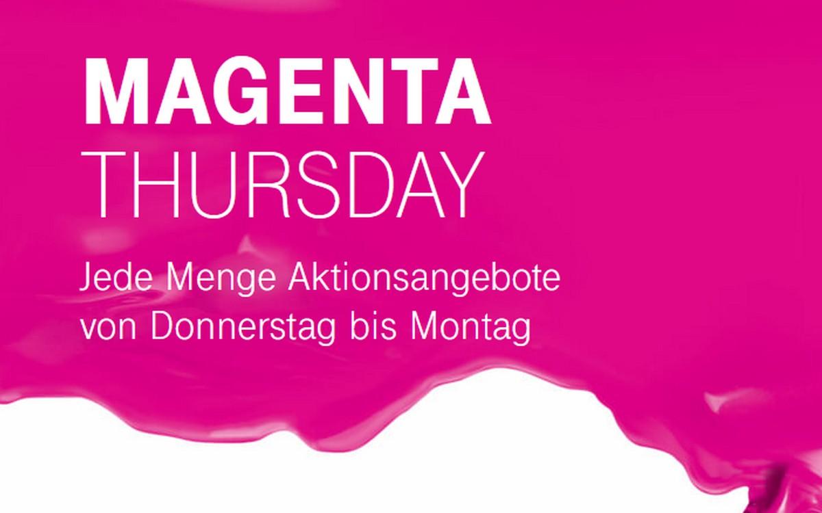 Der Magenta Thursday läuft von Donnerstag bis Montag