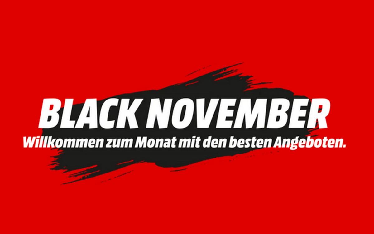 Statt Red Week: Mit der Media Markt Black Week geht der Händler in die Woche bis zum schwarzen Freitag