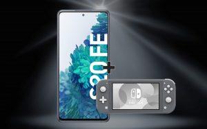 Nintendo Switch zum Samsung Galaxy S20 FE (4G)