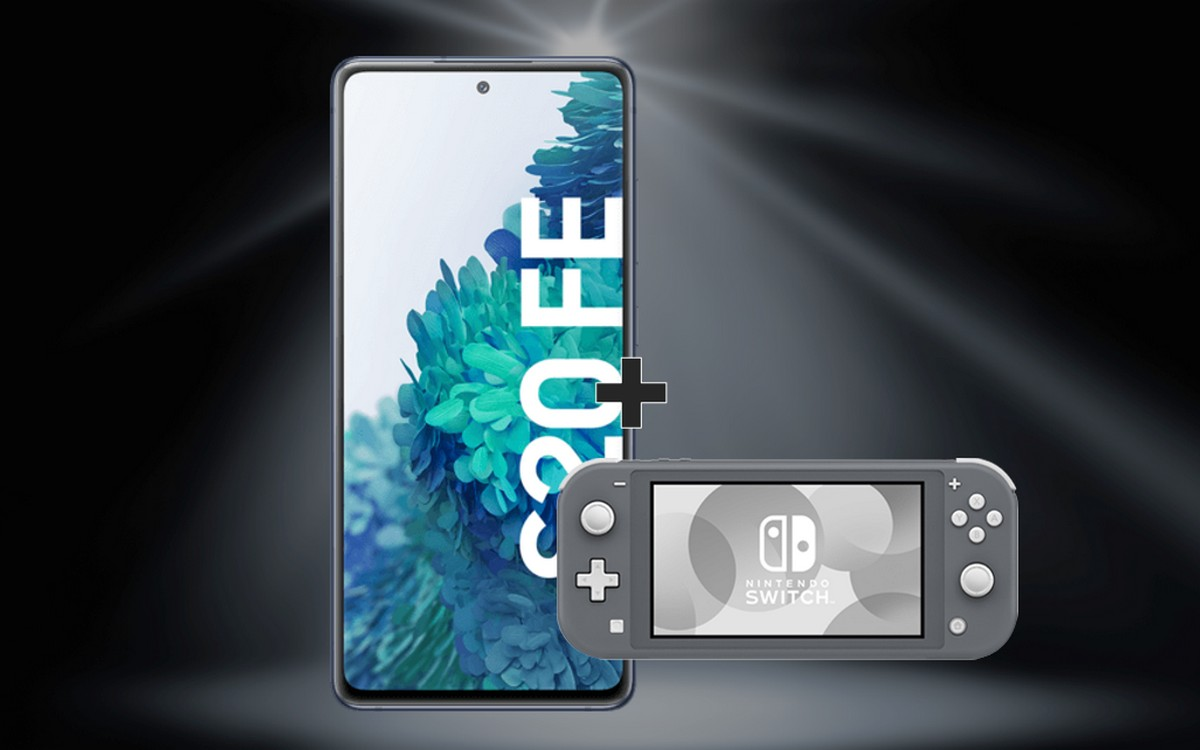 o2 Free M mit Samsung Galaxy S20 FE (4G) und Nintendo Switch Konsole
