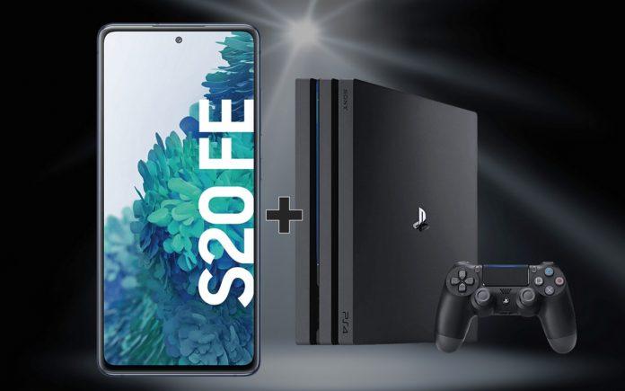 PS4 Pro zum Samsung Galaxy S20 FE