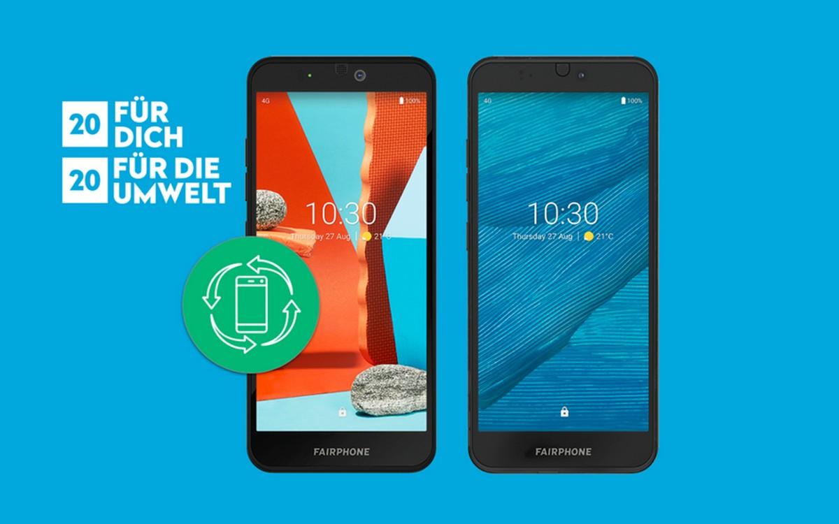 Zum Jahresausklang findet eine Fairphone Cashback-Aktion statt - bei der du die Wahl hast, wie viel es zurückgibt