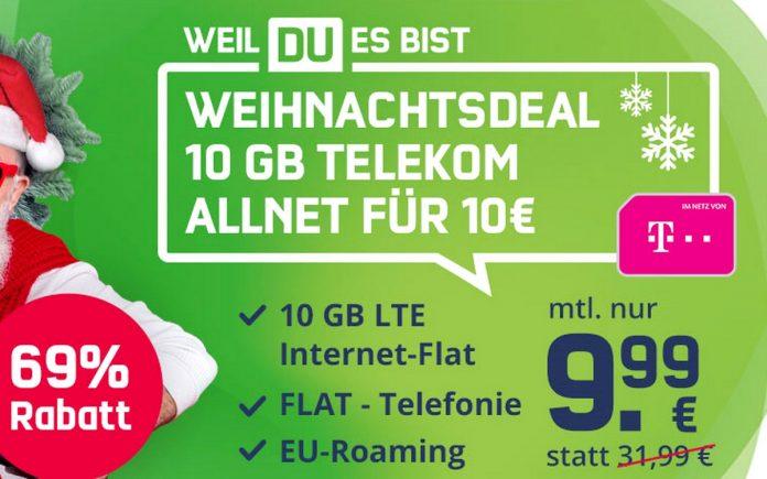 mobilcom-debitel Weihnachtsangebot