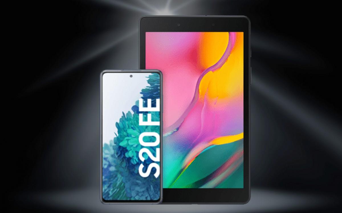 Tablet zum Samsung Galaxy S20 FE (4G) bei o2