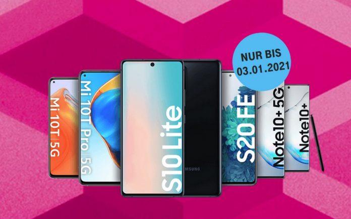 Telekom: Smartphones für 1 €