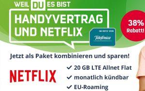 Netflix Handyvertrag