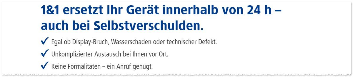 1&1 Handy-Tausch-Service